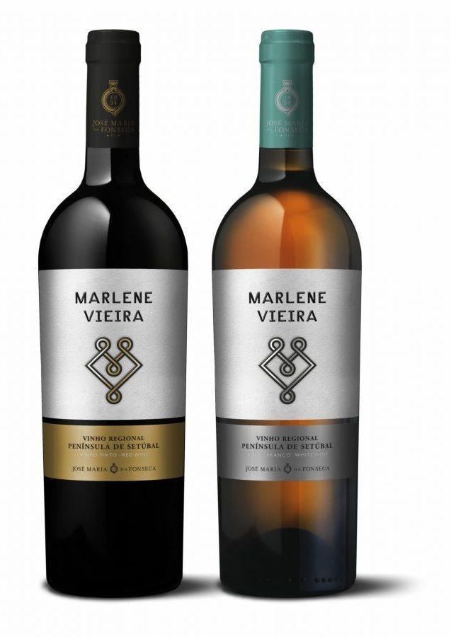 Vinho Marlene Vieira Tinto e Branco